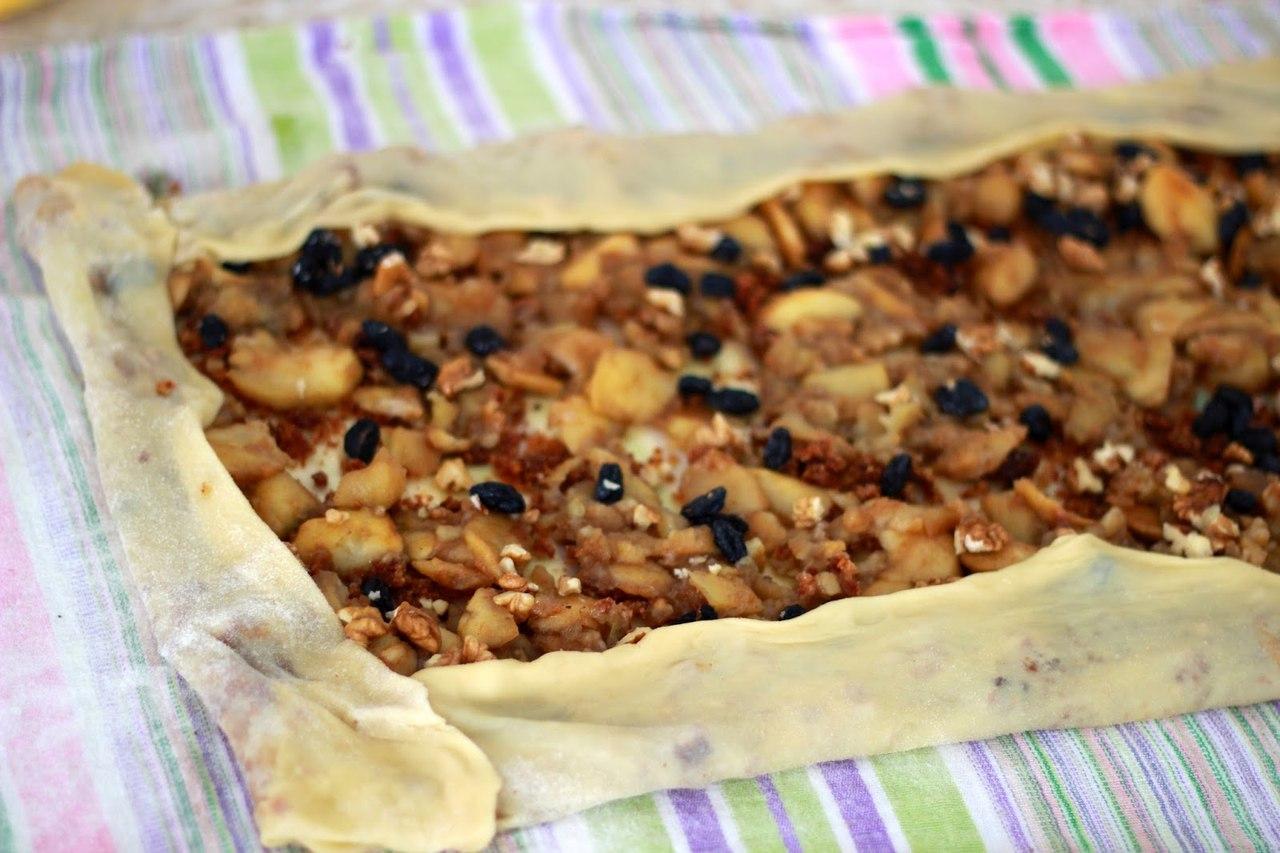 Записывайте самый удачный и несложный рецепт идеального штруделя с яблоками!