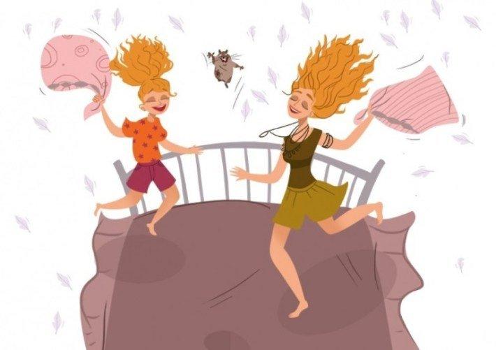 18 иллюстраций, доказывающих, какое это счастье иметь дочь