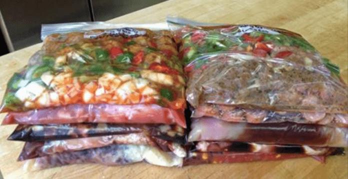 За 1 час — 10 отличных блюд. Супер трюк для экономии времени на кухне!