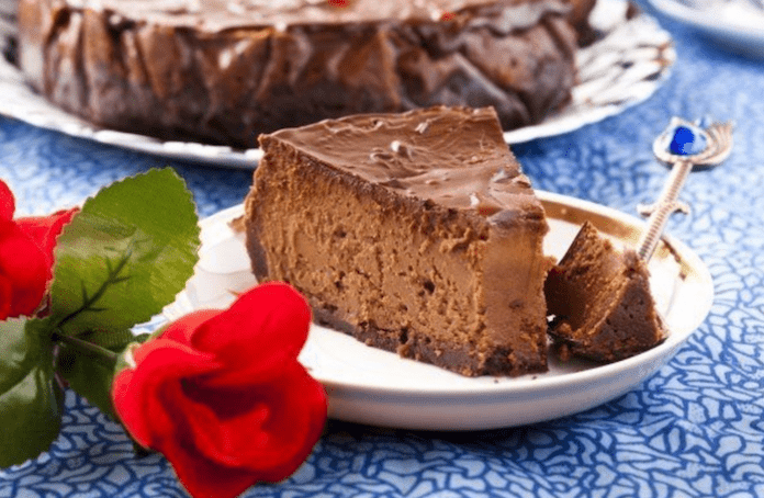 Диетический шоколадный чизкейк - для сладкоежек на диете!