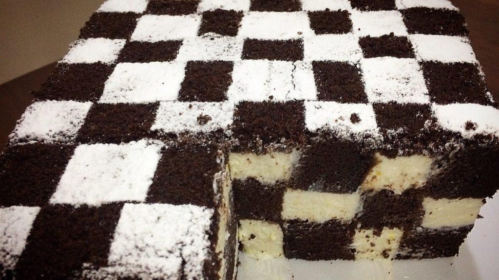 Приготовив этот шахматный чизкейк, почувствовала себя супер кулинаром! А на самом деле всё просто!