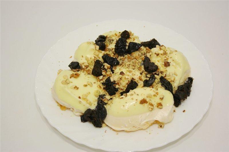 Торт «Графские развалины» с безе и масляным кремом на сгущенке. Готовлю регулярно!