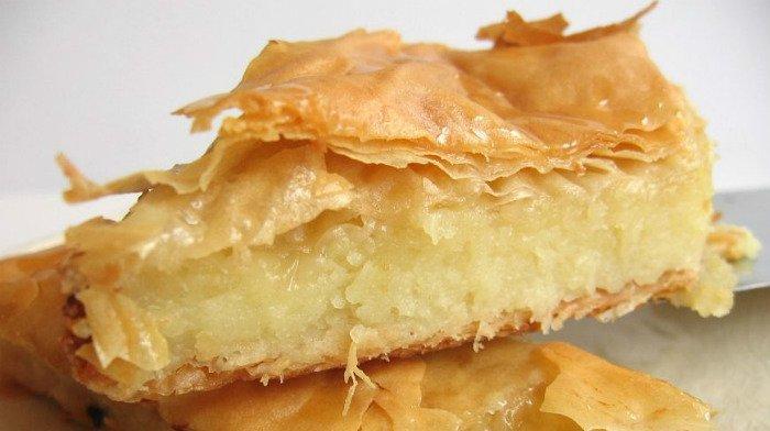 Молочный пирог галактобуреко по оригинальному греческому рецепту удивит вашу семью!