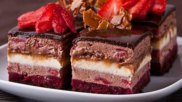 """Пирожные """"Очаровательные"""". Когда приготовишь их - поймёшь, почему их так назвали!"""