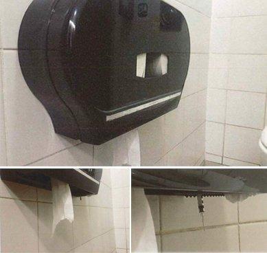 Остерегайтесь распределителя салфеток в общественных туалетах. Причина повергнет Вас в ужас!
