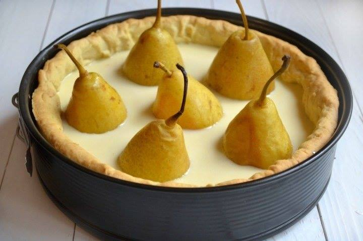 Пирог «Груши в хрустале» - не нужно быть шеф-поваром чтобы приготовить этот шедевр!