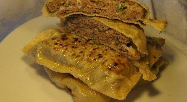 Китайские лепёшки с мясом. Кто бы мог подумать что такая вкуснотища так просто готовиться!
