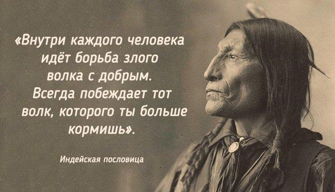 26 мудрейших пословиц индейского народа. Люди разные - истина одна...