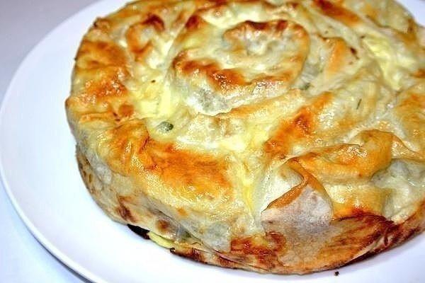 Пирог Лаваш в заливке - сверх просто и нереально вкусно!