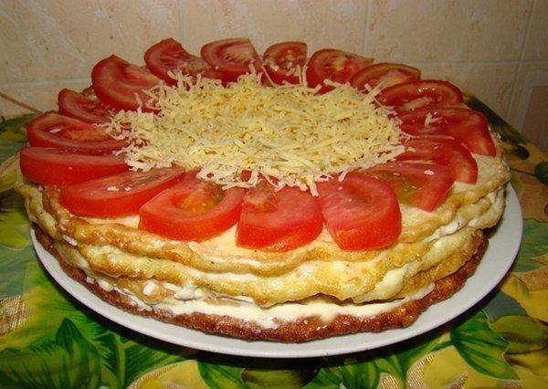 Закусочный торт из кабачков. Мой любимый овощной деликатес!