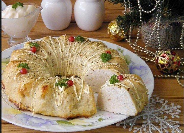 Куриное суфле в духовке - удивите гостей нежнейшим мясным деликатесом!