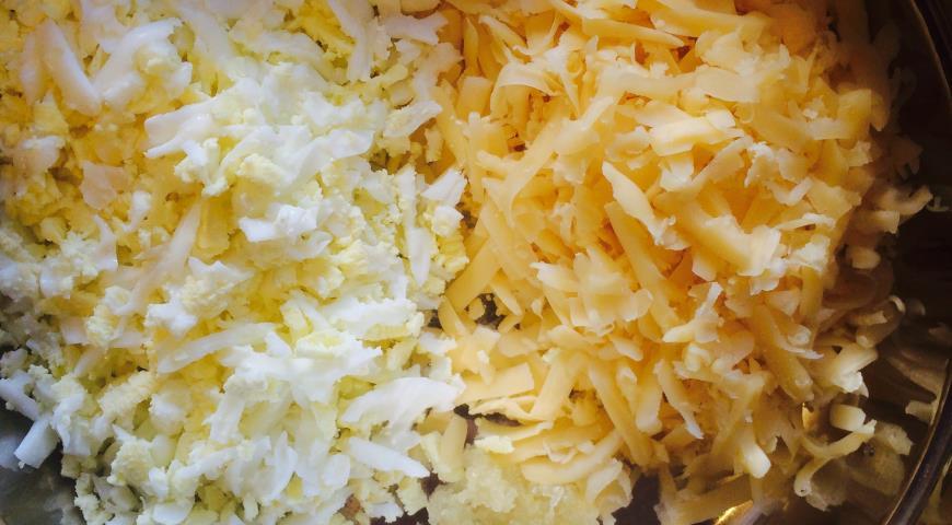 Рулеты из баклажанов с сыром