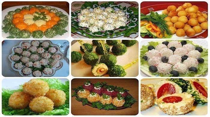 9 супер вкусных и простых закусок в виде шариков. Рекомендую!