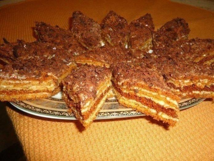 Тортик «Мужской идеал» - уже лет 20 его готовлю. Простые ингредиенты, а вкус обалденный!