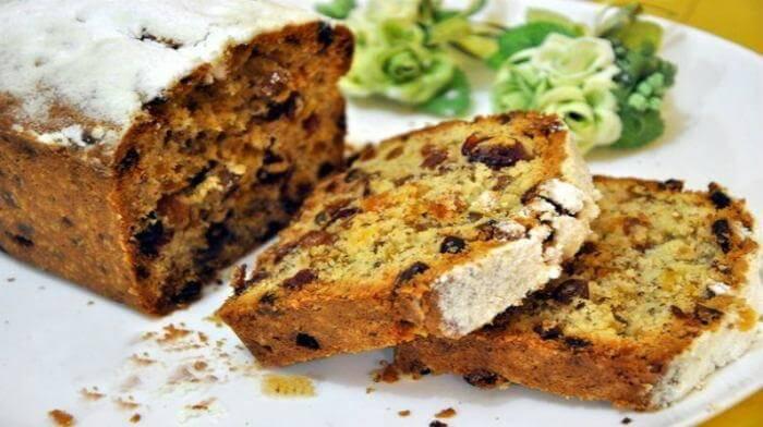 Английский кекс с орехами и цукатами - можно каждому сделать на свой вкус!