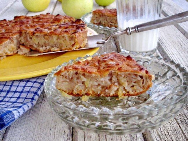 Яблочный пирог по давнему французскому рецепту - гениально просто и очень вкусно!