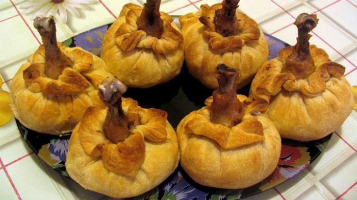 Куриные ножки в мешочках - новая потрясающая подача привычного блюда