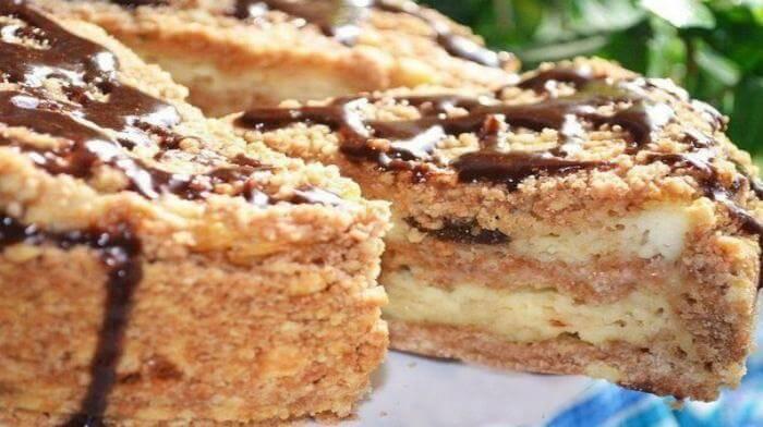 Пирог с творогом и черносливом: мой фаворит к чаю и кофе!