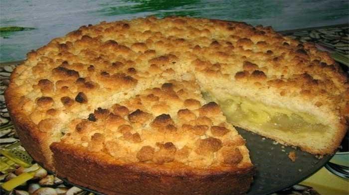 Яблочный пирог «Царский»