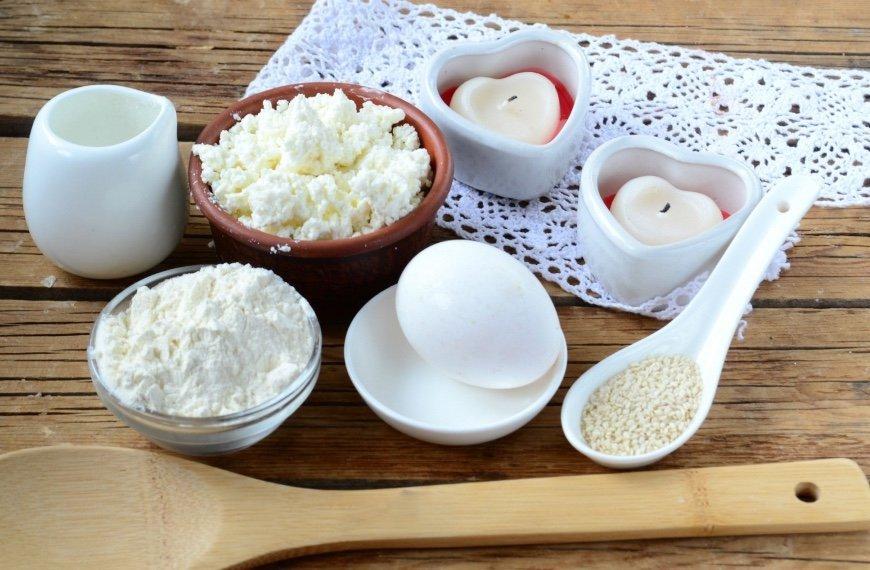 Творожные бублики с сыром