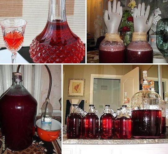 Как сделать домашняя вино из варенья
