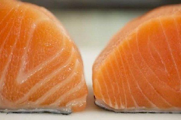 Осторожно! В лососе, который выращивается на на фермах, изобилуют антибиотики и ртуть.