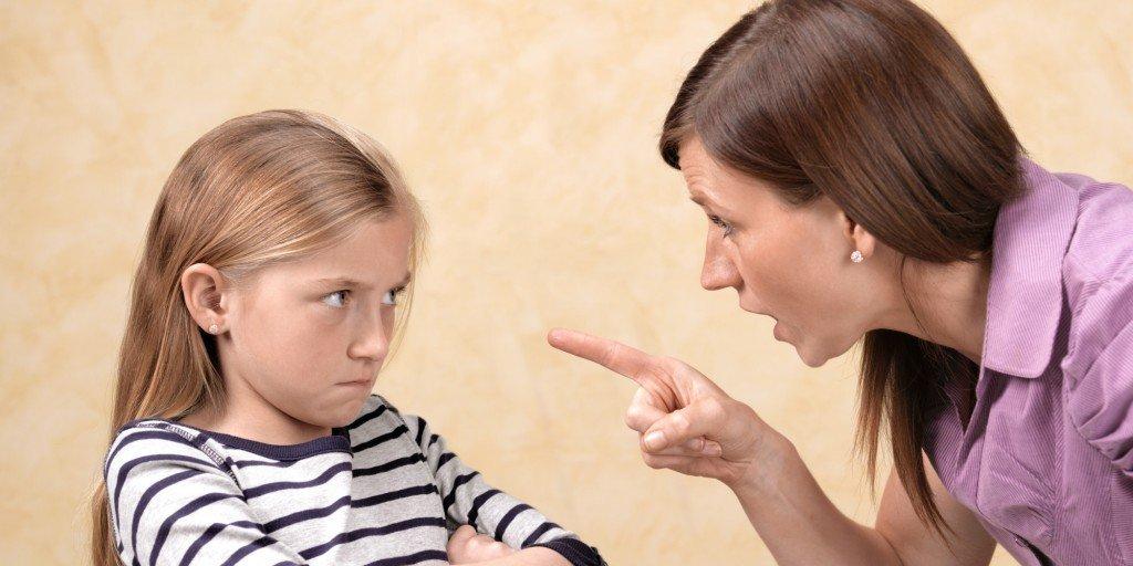 Иногда даже самые любящие родители срываются...