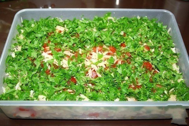 Салат Самый вкусный