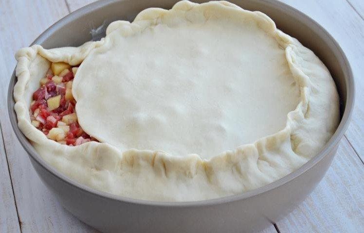 Зур Бэлиш - очень сочный и вкусный татарский пирог