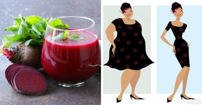 Как похудеть за 3 дня на свекле