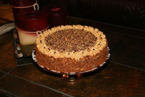 Торт «Золотой ключик». Все детишки очень любят!