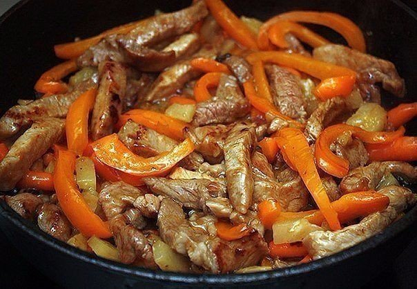 Великолепное мясо по-тайски