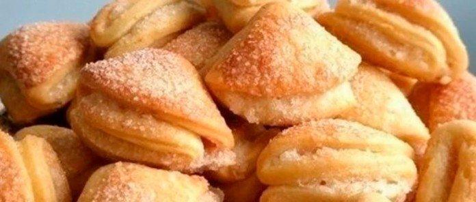 Печенье творожное: готовила 20 минут, а едим всей семьей целую неделю!