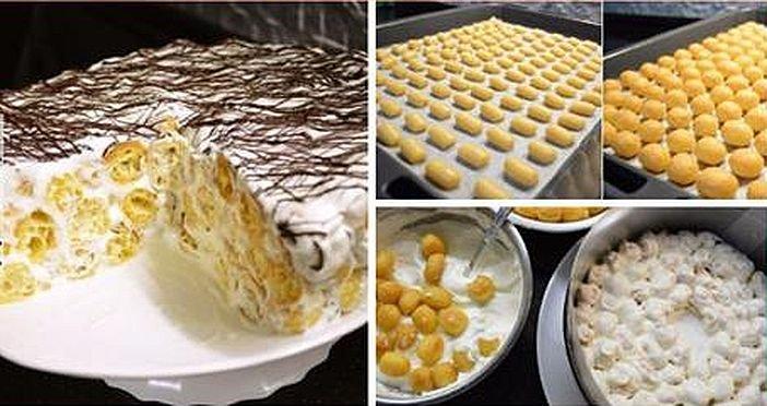Необычный торт «Дамские пальчики»