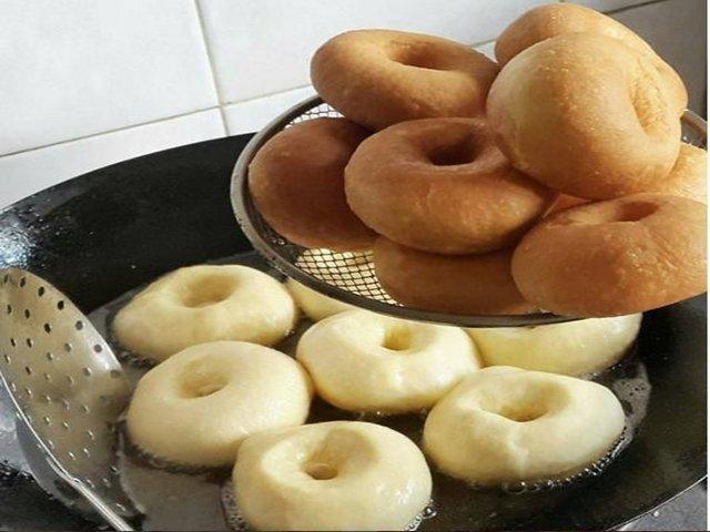 Обалденные пончики с начинкой или без тают во рту