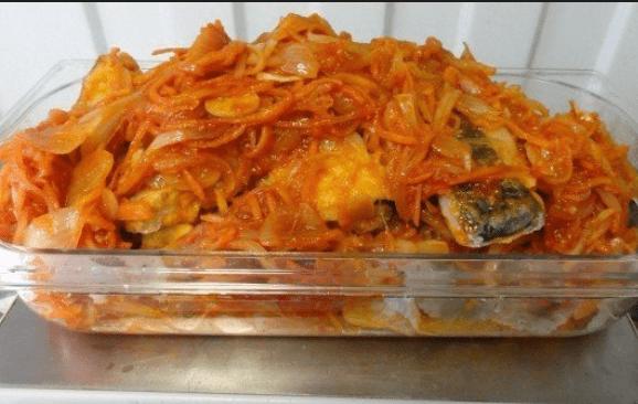 Как приготовить вкусную рыбу в томатном маринаде