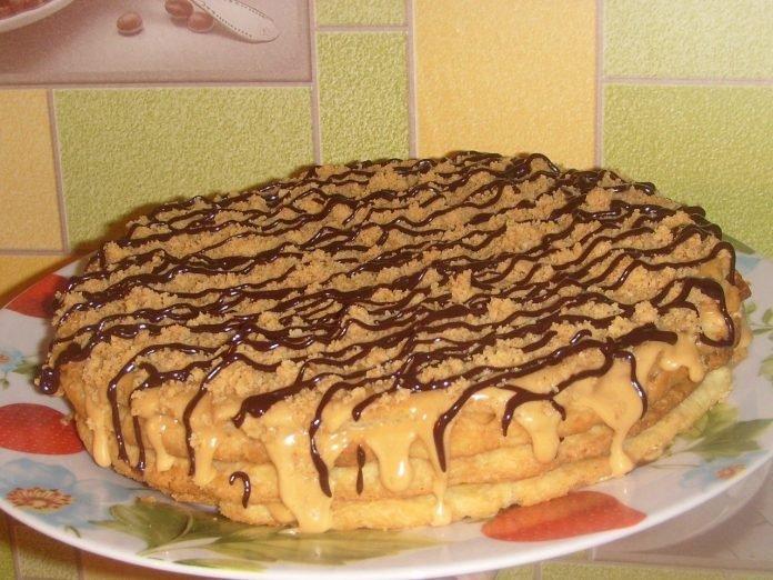 Бесподобный домашний тортик с вкуснейшим кремом — объедение!