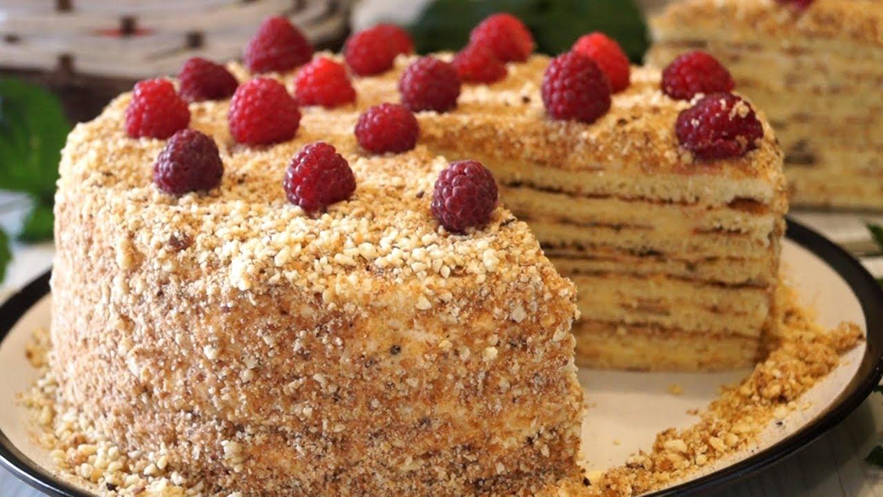 Рецепты нежных и вкусных тортов в домашних условиях