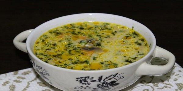 Самый вкусный грибной сливочный суп ! Сочетание сливок, плавленого сыра и грибов — так вкусно, просто пальчики оближешь