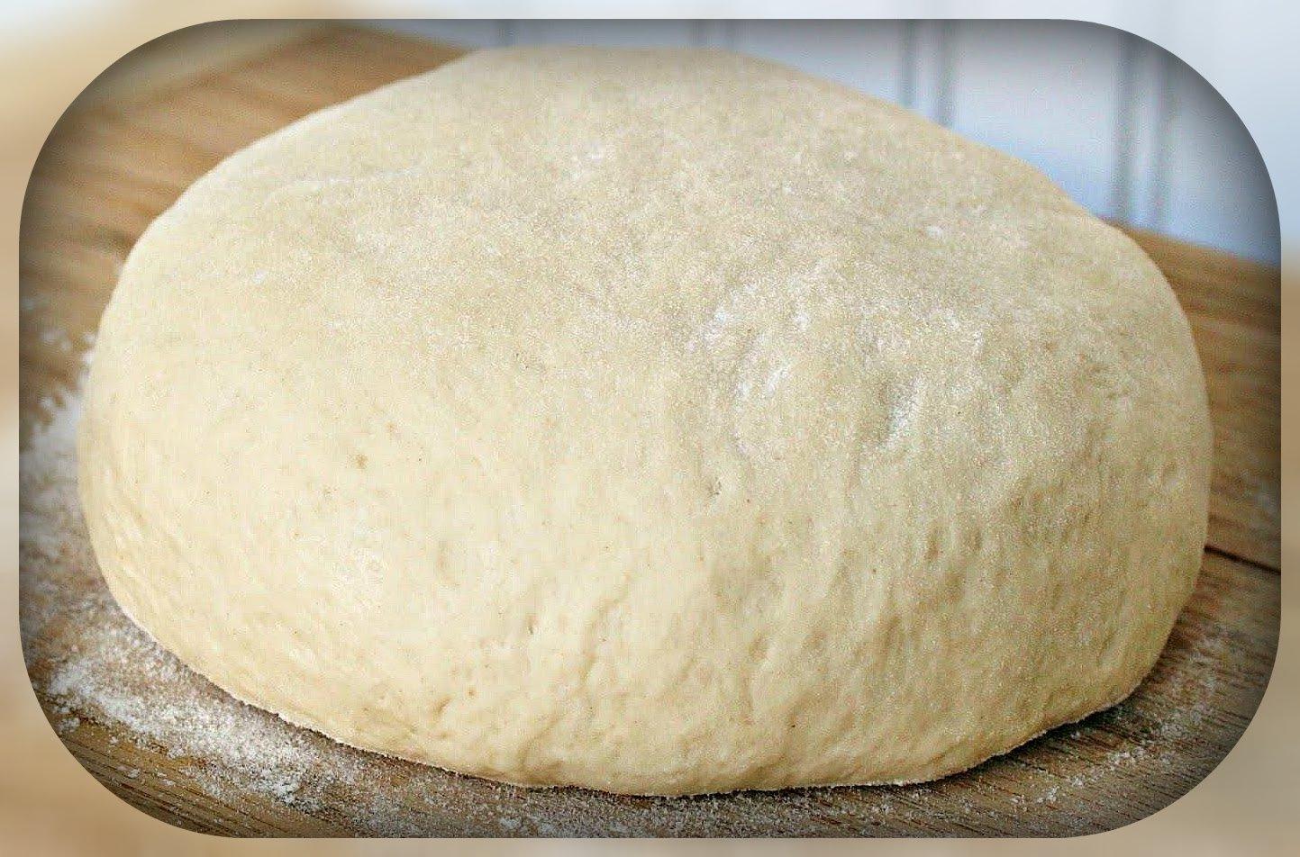 Обалденное тесто для пирожков, пирогов и пиццы!