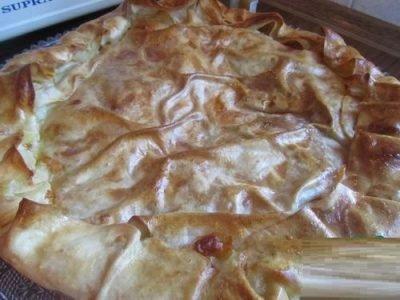 Всем-всем сыроманам! Божественный сабурани! пирог божественно вкусен!
