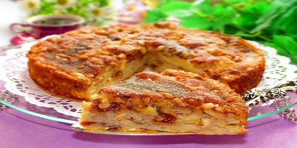 Яблочные пироги, штрудель и шарлотка — это классика, а вот торт….
