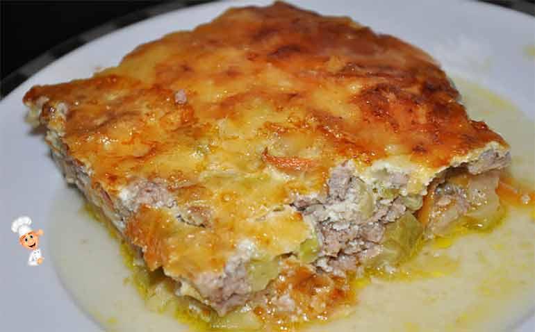 Запеканка рыбная с картофелем в духовке