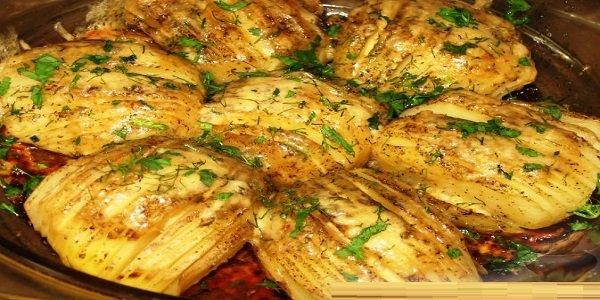 Запеченная картошечка, фаршированная овощами и с сырной корочкой! НАСТОЯЩЕЕ БЛАЖЕНСТВО ВКУСА!!!!
