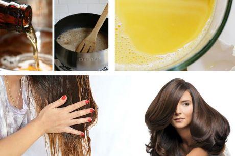 Маска, которая возобновит рост волос и остановит обильное выпадение!