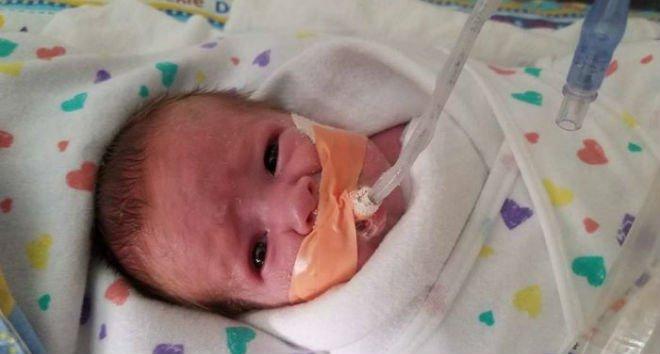 Младенец борется за свою жизнь в больнице, но родителям нужно работать. Посмотрите кто пришел ему на помощь