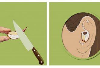 Если вы поместите зубчик чеснока в ваше ухо, вот что произойдет!