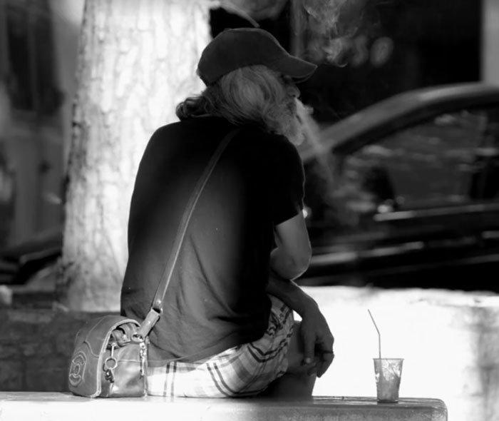 Невероятное превращение бездомного человека в «хипстера» заставило заплакать