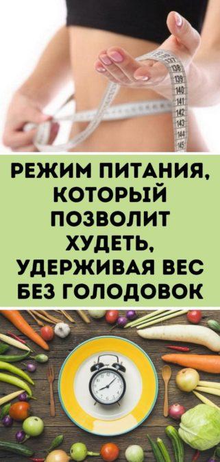 Режим питания, который позволит худеть, удерживая вес без голодовок
