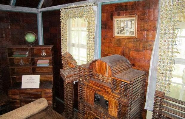 Дом, который построили из газет, стоит уже более 90 лет